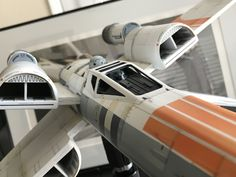 McQuarrie X Wing 1:24 Scale. Casting By FM Sci Fi Models