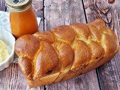 Foszlós kalács a húsvéti asztalra Food And Drink, Bread, Felt, Felting, Brot, Feltro, Baking, Breads, Buns