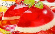 Strawberry Mango Jello Cream