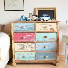 ikea hack furnierte m bel mit kreidefarbe streichen anleitung shabby upcycling and chalk. Black Bedroom Furniture Sets. Home Design Ideas