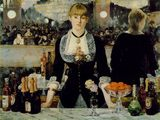 Édouard Manet (French, 1832-1883). Bar at the Folies-Bergère (1882). Oil on canvas. 96 x 130 cm. P.1934.SC.234. Photograph provided by J. Paul Getty Museum.