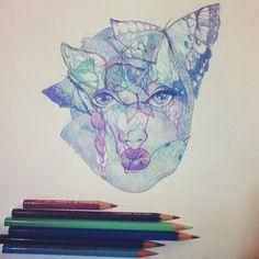 blue.face.butterflies.snake.