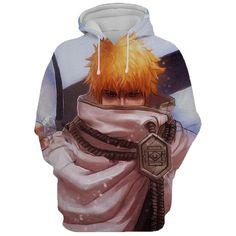 Anime Costumes, Cosplay Costumes, Bleach Hoodie, Mens Sweatshirts, Hoodies, Anime Merchandise, Bleach Anime, Manga Characters, Anime Outfits
