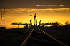 Expedition 39 Soyuz Rollout (201403220009HQ) by NASA HQ PHOTO, via Flickr