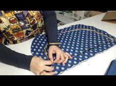 Como fazer uma mochila de viagem ,passo a passo Mochila LA BELLE - YouTube