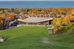 Stunning views of Georgian Bay at Alpine Ski Club, The Blue Mountains, Ontario - Collingwood - Weddings - Events - Ski