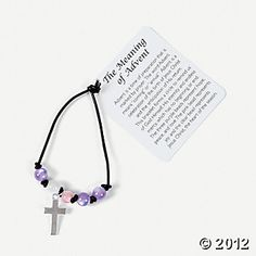 Each color on these bracelets represent a different virtue! The Advent Charm Bracelet Craft Kit provides everything y. Catholic Crafts, Catholic Kids, Church Crafts, Catholic Catechism, Children Church, Catholic School, Advent Activities, Christmas Activities, Christmas Ideas