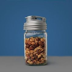 Stylish Storage Use a reCap lid to transform jars into quick pour storage containers for everything from macaroni to hardware. You can even use them to keep yarn from tangling, foiling mischievous kittens everywhere.