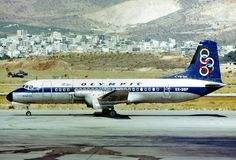 Olympic Airways NAMC YS-11A-500 (Isle of Andros) [SX-BBP] Olympic Airlines, National Airlines, Passenger Aircraft, Airplane Travel, Jet Plane, Air Travel, Olympics, Aviation, Greece