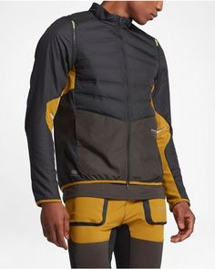 Men's Nike NikeLab Gyakusou AeroLoft Running Jacket Black Small S 872069 010 #Nike #Jacket