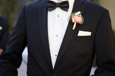 Gold Trimmed Ranunculus Boutonniere
