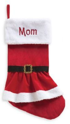 af718995e Personalized Planet Mrs. Claus Coat Stocking Red White Christmas Crafts For  Gifts