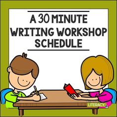 A 30 Minute Writing Workshop Schedule – Out of this Word Literacy - Colorful Dreams Kindergarten Nursery Kindergarten Schedule, Kindergarten Writing Activities, Kindergarten Lessons, Teaching Writing, Literacy, Kindergarten Writers Workshop, School Schedule, Teaching English, Teaching Ideas