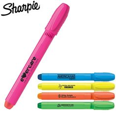 Promotional Sharpie Gel Highlighter | Customized Highlighters | Promotional Sharpie Pens