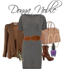 """Donna Noble"" by fangirlfashion on Polyvore"