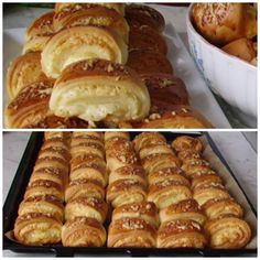 Bakery Recipes, Dessert Recipes, Hungarian Recipes, Hot Dog Buns, Meal Prep, Recipies, Clean Eating, Food And Drink, Bread