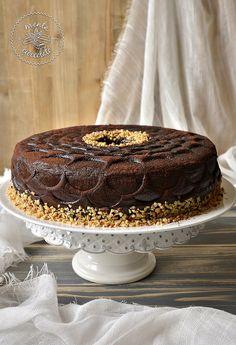 Menta e Cioccolato: Angel food #cake al #caffè glassata al #cioccolato
