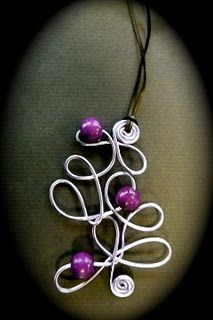 Cool!  I love freeform.  Check the link for oodles of inspiration to get your wire fix.