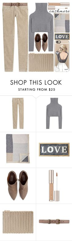"""""""Cozy Cashmere Sweaters"""" by grozdana-v ❤ liked on Polyvore featuring Closed, Valentino, Rani Arabella, Parlane, Deux Lux, Gucci, Casetify and cashmere"""