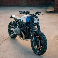 Revealed: The first factory-sanctioned BMW R nineT Scrambler, by Jvb-Moto. We'd take it in a heartbeat — would you?