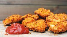 Op zoek naar leuke BBQ recepten? Ga eens voor deze kip nuggets van de BBQ! #bbqrecept #kipnuggets #kipnugget #kip
