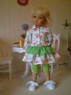 "Fashion for 18"" Slim Dolls Kidz 'n' Cats Dress Set (3) by Brigitte"