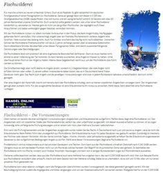 Zurück zur Natur... Mildere Winter und längere warme Tage sind nur zwei Gründe dafür, dass sich immer mehr Menschen für ein entspannendes Hobby inmitten freier Natur interessieren. Angeln liegt im Trend. Wer sich umfassend über die Regeln der Fischerei informiert, kann schnell einen Angelschein erwerben.    http://www.angelschein.net