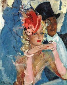 Художник Jean-Gabriel Domergue (1889 – 1962)