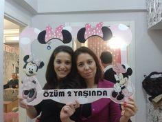 Minnie Mouse Doğum Günü Organizasyonu hatira cercevesi