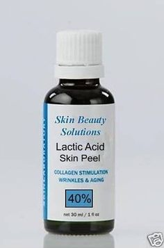 Lactic Acid Skin Chemical Peel 40 Md Grade Kit 1oz ** You can get additional details at the image link.
