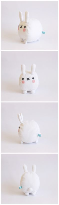Mini conejo bola.  #handmade #toy #bunny #stuffed #plush #cute #kawaii