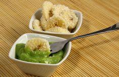Kókuszos banán zöld szósszal Paleo, Ethnic Recipes, Beach Wrap, Paleo Diet