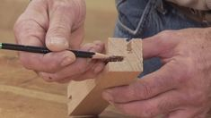 When building a chair or stool, you'll want to make sure that the legs will withstand your weight and in turn stand the test of time. George Vondriska teaches you to do so by offsetting (cutting to the left or right of center) the mortise cuts that you make for mortise and tenon joinery.