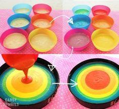 Candy Zombies DIY: Regenbogen-Käsekuchen & Zebra-Käsekuchen inkl. Geheimrezept