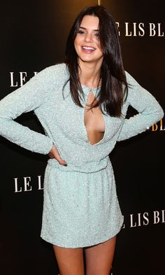 Don't move Kendall Jenner! The KUWTK star almost suffers a wardrobe malfunction in Brazil!