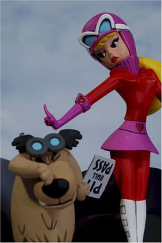 Penelope Pitstop & Muttley