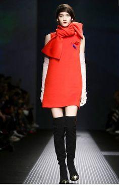MSGM Fashion Show, new post! http://www.aclosetfortwo.com/fashion/mfw-msgm