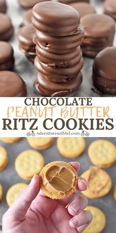 Ritz Cracker Chocolate Peanut Butter Cups, made with Ritz crackers, creamy peanut butter, and melted chocolate. Family favorite holiday candy recipe, perfect for a Valentine's Day sweet treat! Peanut Butter Dessert Recipes, Cookie Recipes, Peanut Recipes, Peanut Butter Candy, Chocolate Peanut Butter Cookies, Peanut Butter Patties Recipe, No Bake Recipes, Simple Dessert Recipes, Almond Bark Recipes