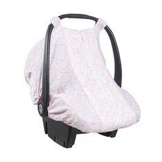 Car Seat Cover in Posy print- by Bebe au Lait