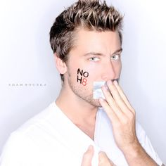 Lance Bass | 56 Awesome NOH8 Celebrity Portraits