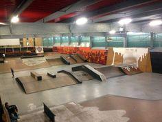 Lille France, Skate Ramp, Bike Parking, Big Houses, Bike Life, Best Interior, Bmx, Indoor, Warehouse