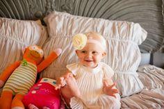 Custom headbands by Sara Rae #babystyle