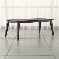 Steppe Solid Wood Dining Table - Crate and Barrel
