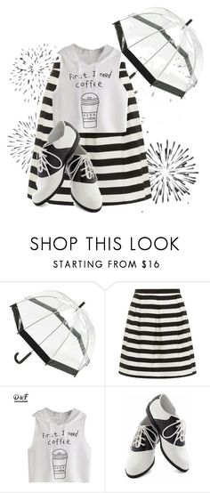 """""""2 Color shoes"""" by mlkdmr ❤ liked on Polyvore featuring Totes, Dorothy Perkins and Pinup Couture"""
