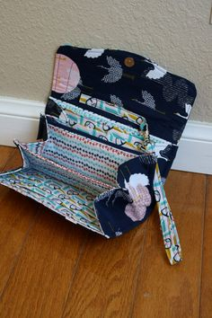 Ultimate Organizing Wallet Necessary Clutch in by aAmeliaHandmade