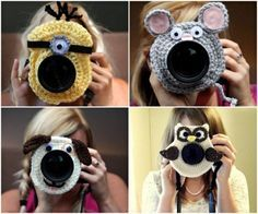 Crochet Lens Buddies - Lots of Free Patterns in our post