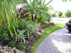 Florida Landscaping Ideas For Backyard essentials of front yard landscape design for beginners artenzo with pictures of front yard landscape designs Rock Yard Landscaping No Grass Front Yard Ideas Bountiful Backyard I Like The Looks Of This But With The Pathway Being The Dry Creek Bed Desc