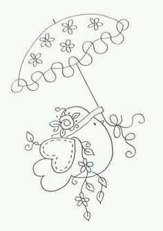 Embroidery Pattern Super Cute. jwt