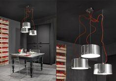 Luminaires-casseroles par Minacciolo