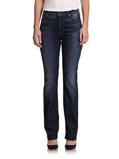 Jen7 - Slim-Straight Jeans